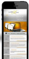 taleb tyres - mobile version site by webdesigner1921