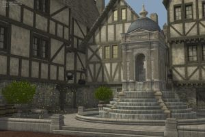 Ronail Town Square Test 2 by SnowSultan