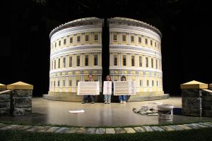 Bath Royal Circus onstage in Small Scale by LocationCreator