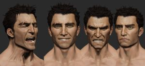 Facial Expressions Zbrush by mojette