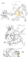 DOTO SKETCHES by Ulsae