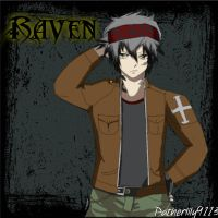 NEW OC! Raven! Fairy tail oc! by Patherlily9113