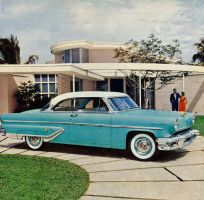 age of chrome and fins : 1955 Lincoln by Peterhoff3