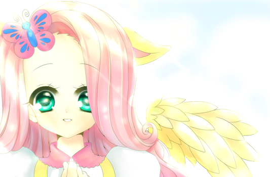 Fluttershy by ManouAzumi
