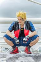 Leon Chiro as Zell Dincht Cosplay - FFVIII by LeonChiroCosplayArt