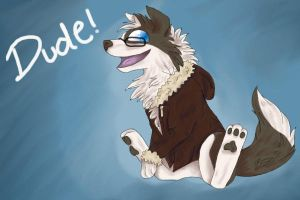 Dude by Toadfoal