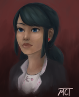 Marinette Dupain-Cheng by moch-y