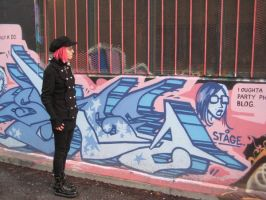 Graffiti Goth 02 by willconquers-stock
