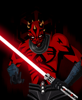 Darth Maul by Digiko
