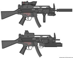 M40 SMG Variants (2) by Target21
