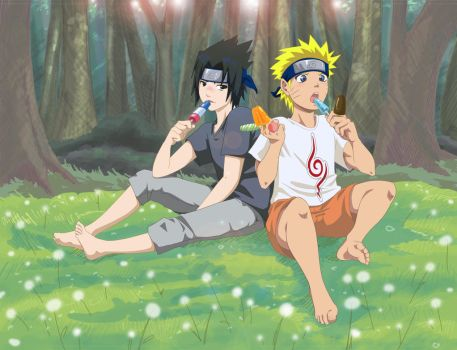 Naruto: Summer by house-mouse