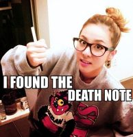 2NE1 Macro:.Dara's Death Note.: by xrinnn