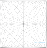 Seven Point Perspective Grid by finalserenade75
