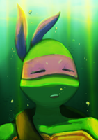Donnie Under Water by SpringSunshower