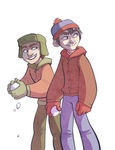 South Park Kids by conniiption