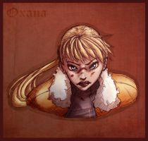 Agents - Oxana is in rage mode by LaLunatique