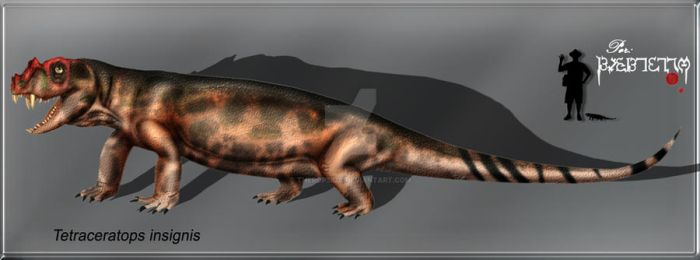 Tetraceratops  insignis by Theropsida