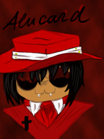 Chibi Alucard by Russell81