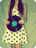 Girl, put your records on. by darkangel63