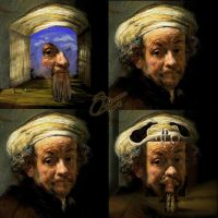 Rembrandt Double Images by LMarkoya