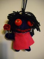 The Creepy Doll (from Ib) by bloomacnchez