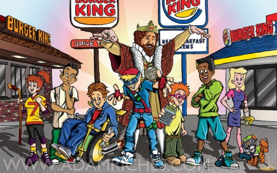 Burger King Kids Club by AdamRiches