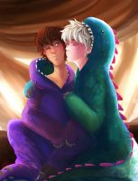 Snuggles (Commission for Hijack-covers, Tumblr) by KT-ExReplica