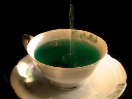 Green Tea Splash by jmarie1210