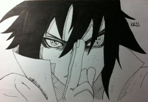 Uchiha Sasuke, the Strongest there is now. by Kuross