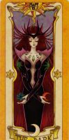 Clow Card - The Dark - Colored by RenjiAbaraiGR