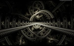 Bridge to Ophidian WP by darkarchon