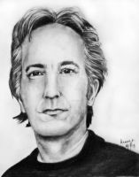 Alan Rickman. by Alb-art