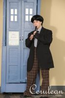 Doctor Who Photoshoot: The Second Doctor by StrangeStuffStudios
