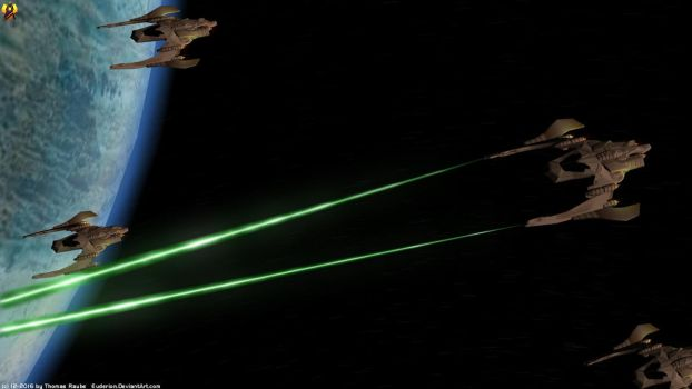 Nausicaan Fighter Attack run by Euderion