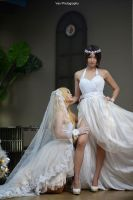 SNK - Beautiful Bride by vaxzone