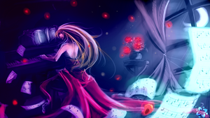 :SpeedPaint: Midnight Waltz by Rozen-Clowd