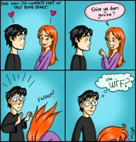 That Harry and Ginny thing by Shmivv