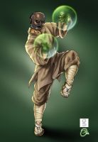Collab Commish: Shaolin hero by rhardo