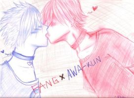 FANG x AWA by AngryMarshmallow