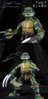 TMNT Slash custom figure by Jin-Saotome
