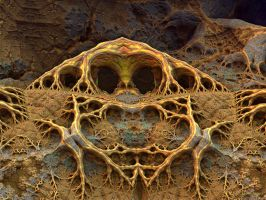Demonic fractal by janhein