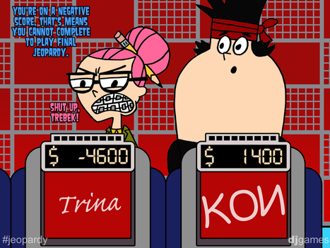 Trina Lost on Jeopardy by DJgames