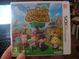 My own copy of AC: New Leaf by MarioBlade64