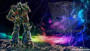 Optimus Prime: Look at the Sky by celtakerthebest