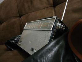 a vintage radio ipod by TTLee