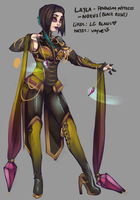 Layla Concept by RavenNoodle