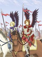 APH - The Winged Hussars by DreamerTakako
