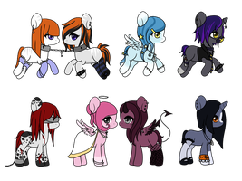 Pony Adopts - SOLD by Kikuko-Keika