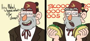 Grunkle Taco by spanabanana