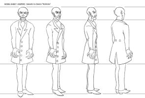 Model Sheet-The Vampire by art2work
